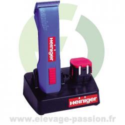 Tondeuse Heiniger Saphir avec 2 batteries
