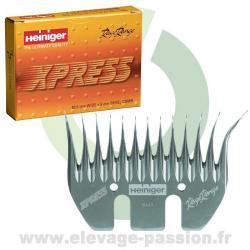 Peigne Heiniger Xpress - boîte de 5