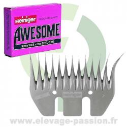 Peigne Heiniger Awesome - boîte de 5