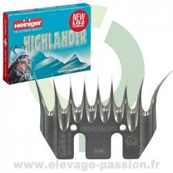 Peigne Heiniger Highlander- boîte de 2