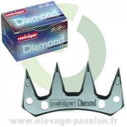 Contre peigne Heiniger Diamond - boîte de 10