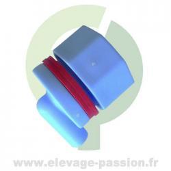 Clapet bleu complet Tetiblue avec 2 joints