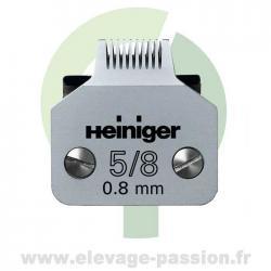 Tête de coupe Heiniger Saphir 5/8 - 0,8mm