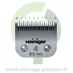Tête de coupe Heiniger Saphir 4 - 9,5mm